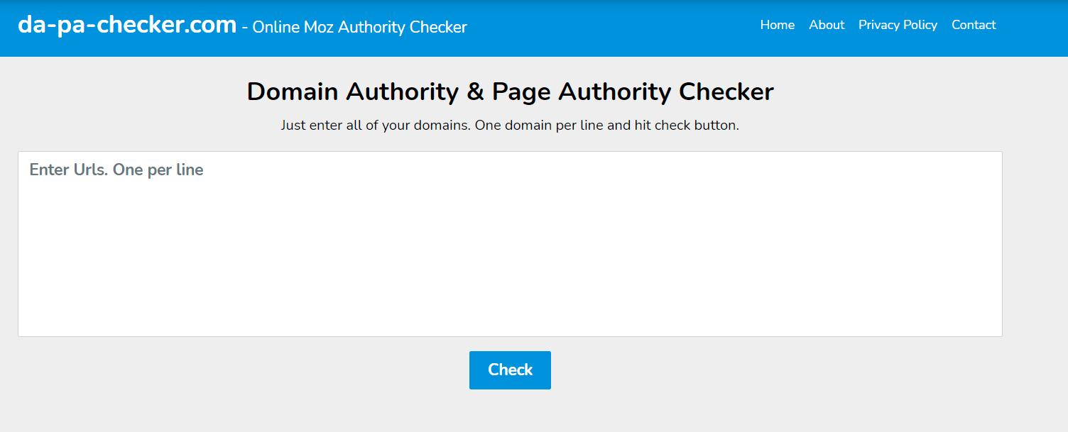 Best DA Domain Authority Checker Tools
