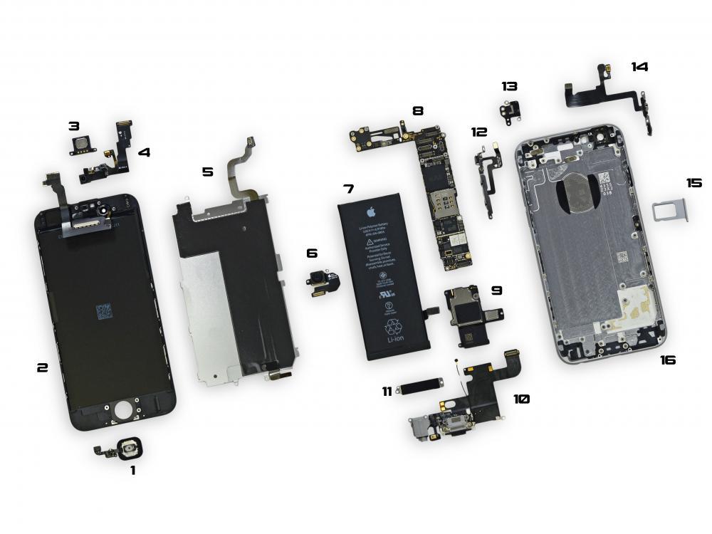 fake iphone spare parts க்கான பட முடிவு