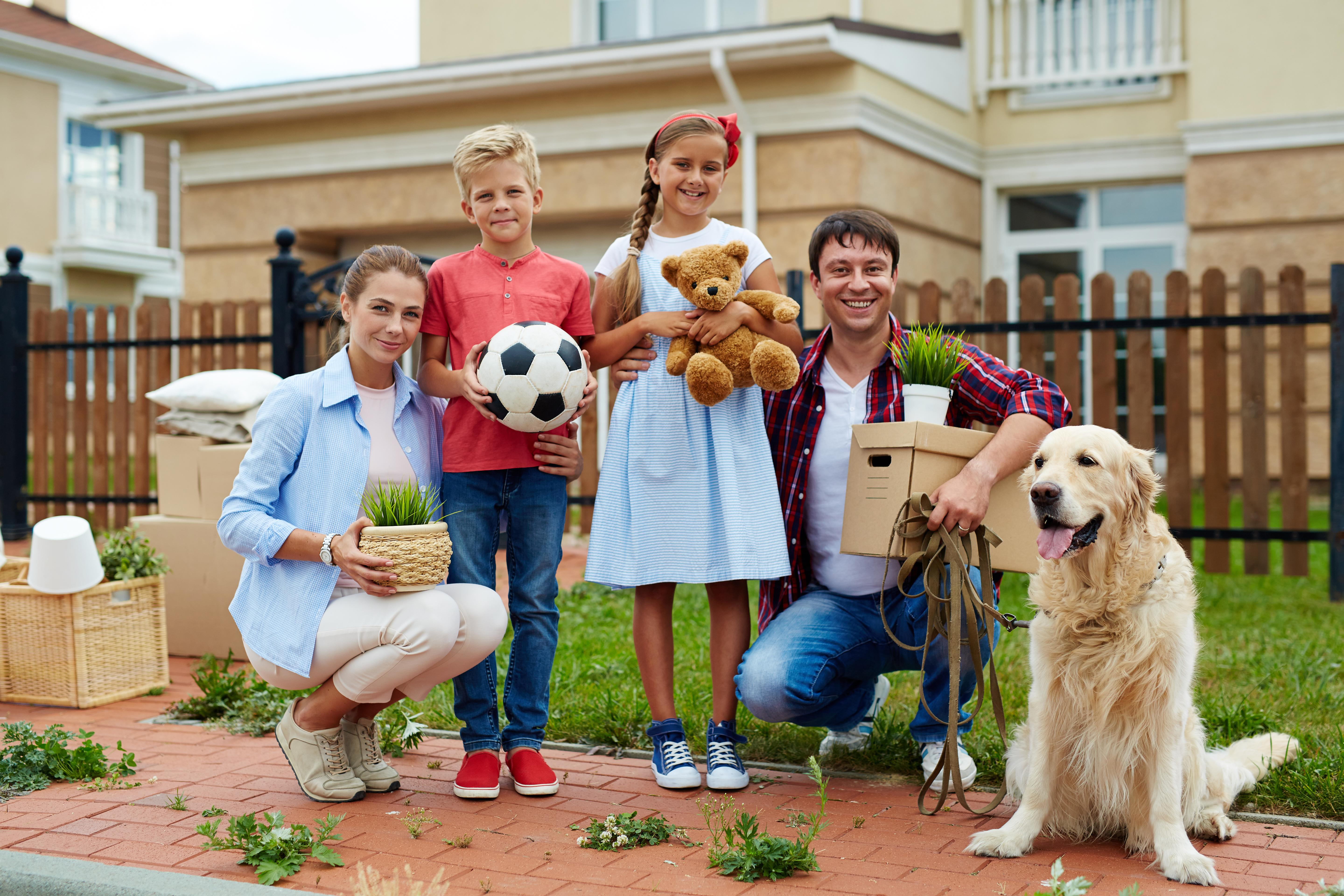 A Step-By-Step Guide To Moving With Pets And Kids