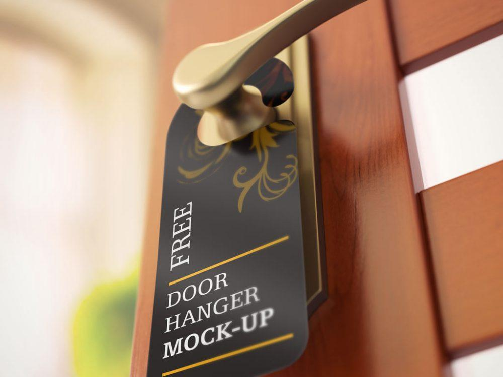 Prospecting for Pennies With Door Hanger Advertising