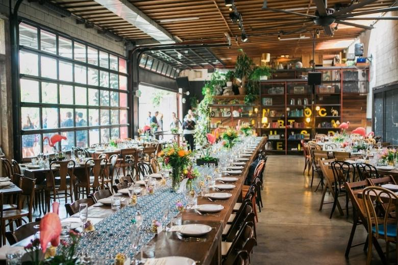Only Chic, Cool Wedding Venues Will do in Hip Los Angeles
