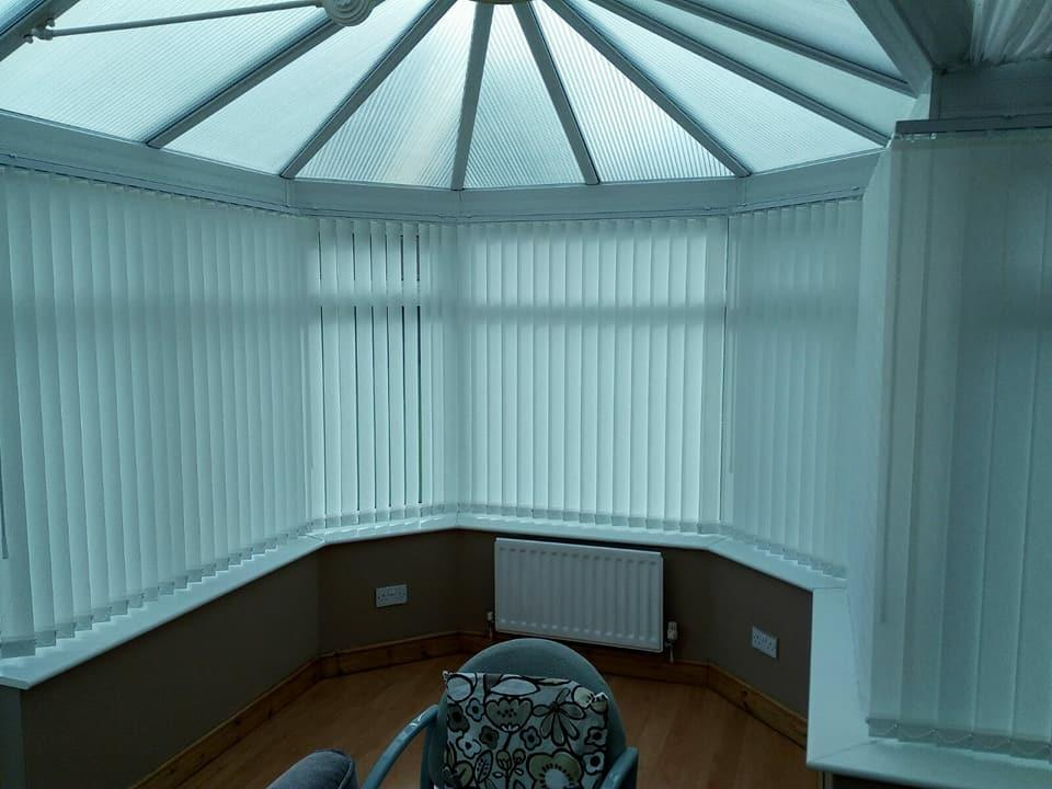 Conservatory Blinds - Cool in summer and Warm in winter