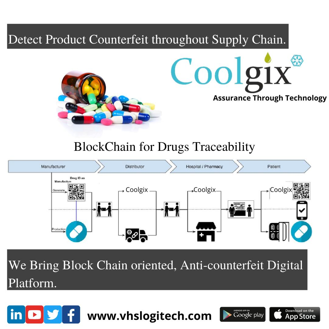 How Blockchain is helping Pharma Industry in Reducing Counterfeit Drugs.