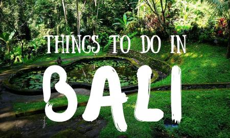 Top 5 Things you Must Include in your Itinerary While in Bali