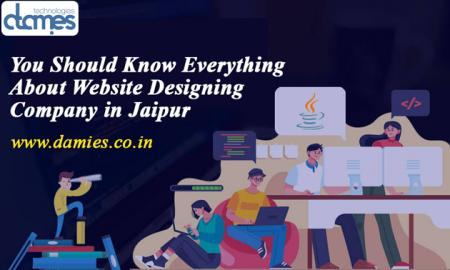 You Should Know Everything about Website Designing Company in Jaipur-D-Amies Technologies