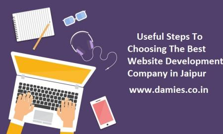 Useful Steps To Choosing The Best Website Development Company in Jaipur