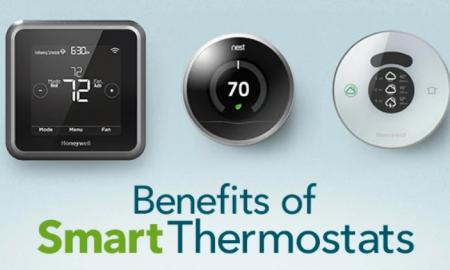 Smart thermostat at smart home - how it works?