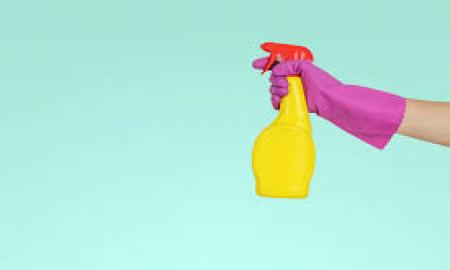 Disinfect your home with cleaners, sprays, and wipes