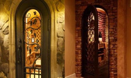 Why Should You Choose Wrought Iron Wine Cellar Doors for Your Wine Cellar?