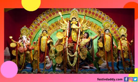 Happy Navratri 2021 Celebration Durga Puja Signification Date Quotes Messages